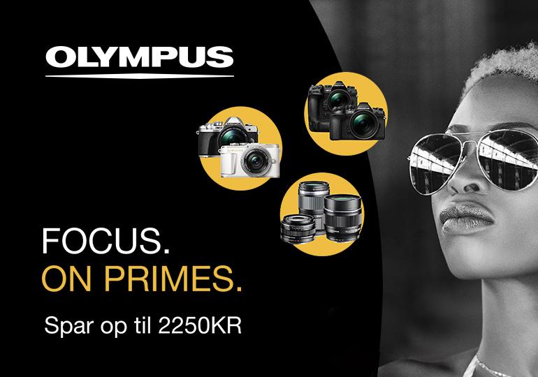 Olympus Cashback kampagne