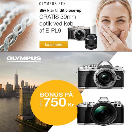 Olympus Bonus kampagne