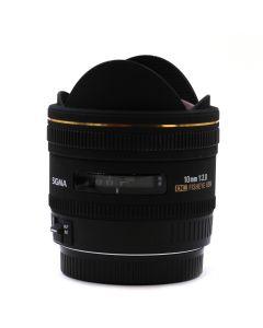 Brugt Sigma 10mm FishEye Hsm F2,8 T/Canon