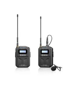 BOYA Mikrofon Lavalier Trådløs UHF BY-WM6S 3.5mm & XLR