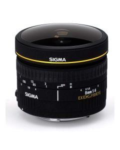SIGMA AF 8mm f/3,5 DG Fisheye EX CIRKULÆR Canon