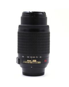 Brugt Nikon AF Nikkor 55-200mm F/4-5,6G ED VR