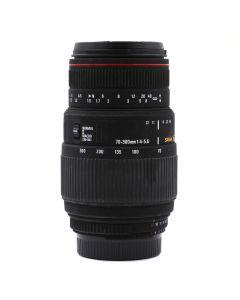 Brugt Sigma 70-300mm F/4-5,6 T/Nikon