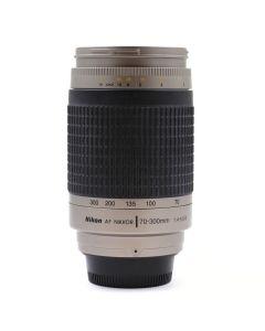 Brugt Nikon AF Nikkor 70-300mm F/4-5,6 Sølv