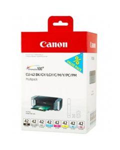 CANON CLI-42 BK/GY/LGY/C/M/Y/PC/PM MULTIPAKKE