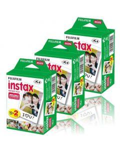 FUJIFILM INSTAX FILM MINI 6X10 billeder