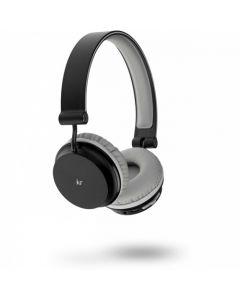 KITSOUND Hovedtelefon On-Ear Metro Trådløs Sort Mic