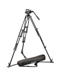 MANFROTTO Stativkit Aluminium VIDEO MVH502A,546GB-1 incl. Taske