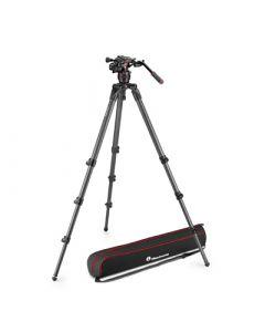 MANFROTTO Stativkit Video Nitrotech 608 + 536