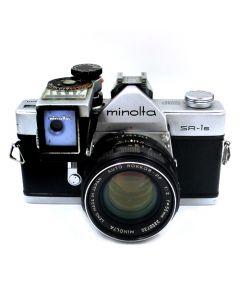 Brugt Minolta SR-1s m/55mm f/2 PF