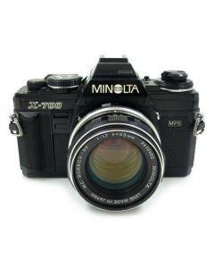Brugt Minolta X-700 m/MC 55mm f/1,7