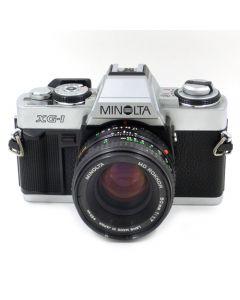 Brugt Minolta XG-1 m/50mm f/1,7