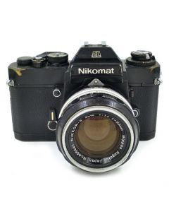 Brugt Nikomat EL Chrome m/50mm f/1,4