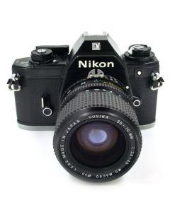 Brugt Nikon EM m/Cosina 35-70mm f/3,5-4,5