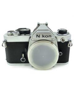 Brugt Nikon FM Chrome hus