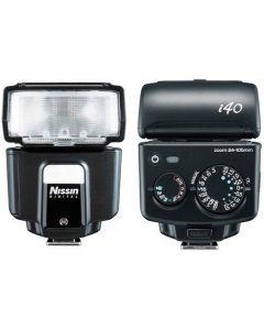 NISSIN I40 FLASH Sony Multi Interface Shoe
