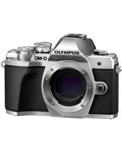 OLYMPUS E-M10 MARK III Hus Sølv