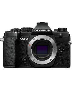 Olympus OM-D E-M5 Mark III Hus Sort (25mm f/1.8 og ECG-5 greb fra Olympus)