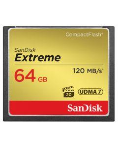 SANDISK CF Extreme 64GB 120MB/s UDMA7