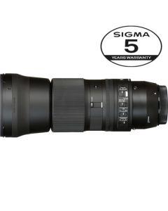 SIGMA AF 150-600MM F/5-6.3 DG OS HSM CONTEMPORARY NIKON 5 ÅRS GARANTI