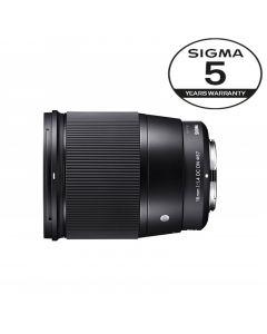 SIGMA AF 16mm f/1.4 DN DC Contemporary SONY E-Mount 5 Års garanti