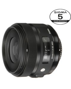 SIGMA AF 30mm F/1.4 DC HSM Art CANON 5 ÅRS GARANTI