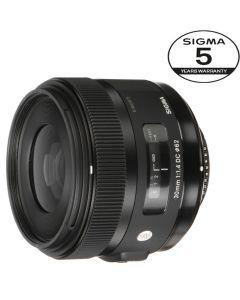 SIGMA AF 30mm F/1.4 DC HSM Art NIKON 5 ÅRS GARANTI