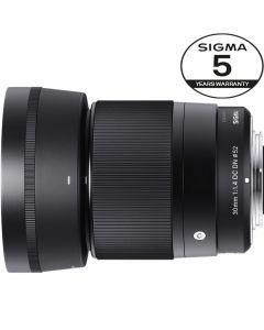 SIGMA AF 30mm F/1.4 DN DC Contemporary SONY E-Mount 5 Års Garanti