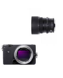 SIGMA FP Kamerakit m/35mm f/2 DG DN (1900,- Cashback)