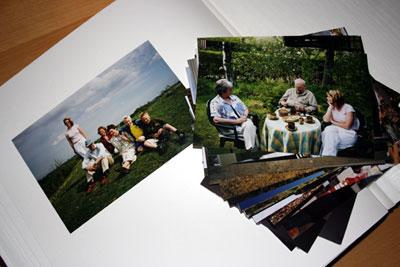 Fotoalbum med billeder