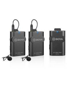 BOYA Mikrofon Knaphuls x2 Trådløs BY-WM4 Pro K2 3.5mm