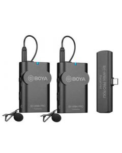 BOYA Mikrofon BY-WM4 Pro K6 Lavalier x2 Trådløs USB-C