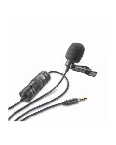 BOYA Mikrofon Knaphuls BY-M1 Lavalier 3,5mm 6,0m