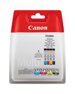 CANON CLI-571 C/M/Y/BK MULTIPAKKE