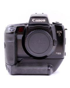 Brugt Canon EOS 5 QD hus med batterigreb