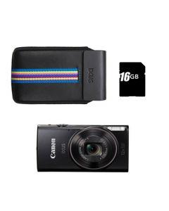CANON IXUS 285HS SORT inkl. taske og 16GB SD kort
