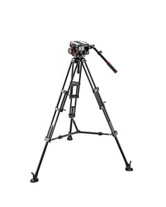 MANFROTTO Stativkit Aluminium VIDEO 509HD, 545BK incl. Taske