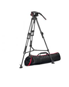 MANFROTTO Stativkit Video 509 + 645 Fast Twin MS 2 in 1 Aluminium