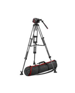 MANFROTTO Stativkit Video Kulfiber 504 + 545G