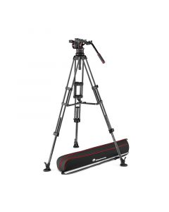 MANFROTTO Stativkit Video Kulfiber Nitrotech N12 545GCF
