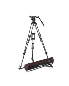 MANFROTTO Stativkit Video Kulfiber Nitrotech N8 + 545GBCF