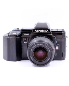 Brugt Minolta 7000 m/35-80mm f/4-5,6
