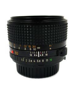 Brugt Minolta MD 50mm 1,2