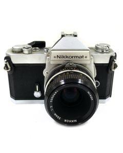 Brugt Nikkormat FT2 Chrome m/50mm f:2