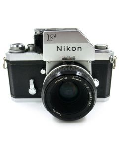 Brugt Nikon F FTn Chrome m/50mm f/2