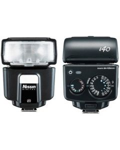 NISSIN I40 FLASH Sony Multi Interface Shoe