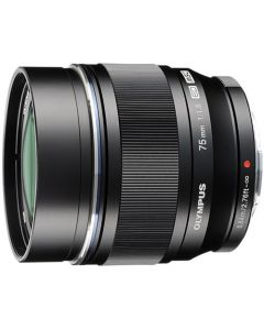 OLYMPUS M. ZUIKO DIGITAL ED 75MM F/1.8 SORT Cashback 1125,-