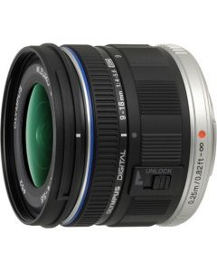 OLYMPUS M. ZUIKO DIGITAL 9-18MM F/4.0-5.6 SORT Cashback 550,-