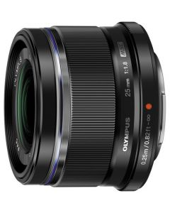 OLYMPUS M. ZUIKO DIGITAL ED 25MM F/1.8 SORT Cashback 550,-