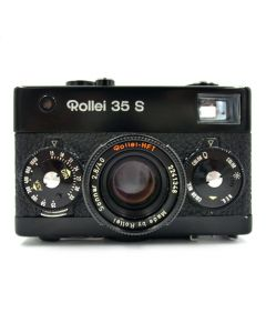 Brugt Rollei 35 S med Sonnar 40mm 2,8 Singapore